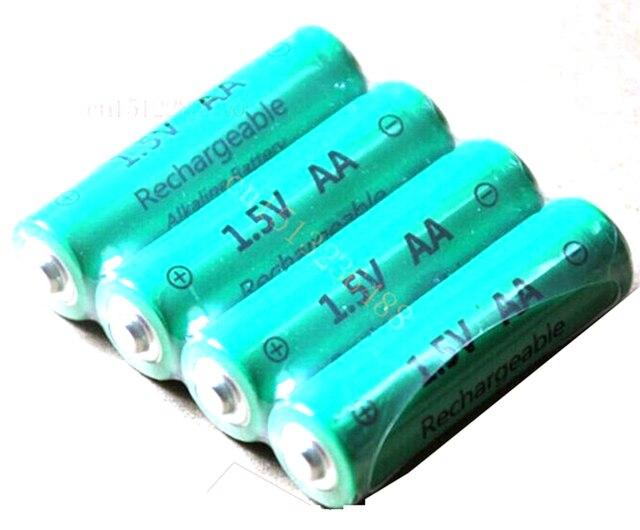 Rechargeable Alkaline Batteries >> 4pcs Lot Aa 3000mah Znmn 1 5v Aa Rechargeable Alkaline Battery Cell