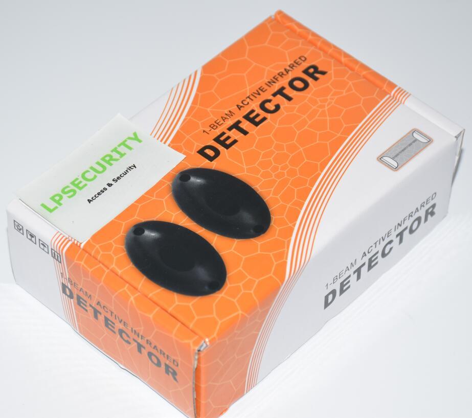 Photoelektrischer Infrarotdetektor Einzelstrahlen Alarm Barrier Sensor Security