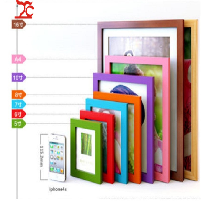 Photo-Wall-Frame Room-Decor Wooden Picture Multi-Size A1 A2 A5 A4 Hot-Style