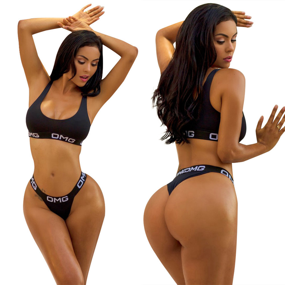 b8023ed8da Buy bikini black set and get free shipping on AliExpress.com