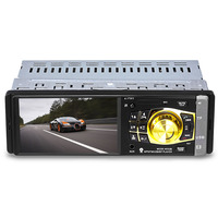 4032B 4.1 inch Vehicle mounted MP5 Bluetooth Car Radio Multimedia Player Audio Video Display with Remote Control
