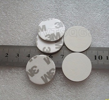 20 sztuk 25mm 3M małe okrągłe nfc 215 chip tag programowalny 13 56MHz rfid dis monety tag rfid zbliżeniowy tag token tanie i dobre opinie HVTSQGJ CN (pochodzenie) Pasywne Karty 0 2-12cm Odczytu zapisu 504 bytes Alien Karty Bezstykowe Karty IC 13 56 MHz 25mm 30mm