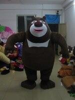 Черный медведь Маскоты костюм косплей Маскоты Заказные изделия на заказ Бесплатная доставка