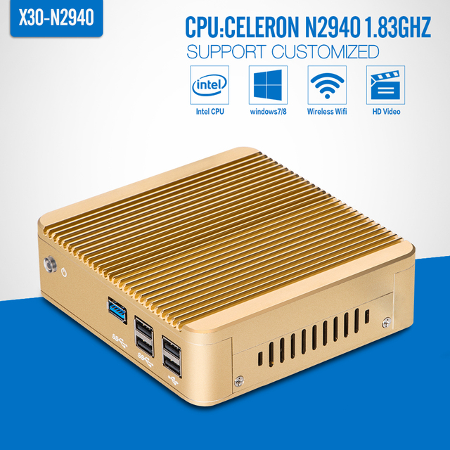 Computador portátil, Celeron N2940 N2930 j1900, Barebone, Único Lan Mini pc, Computador tablet, Hdmi, Vídeo HD suporte Win7 / 8 / 8.1 / 10