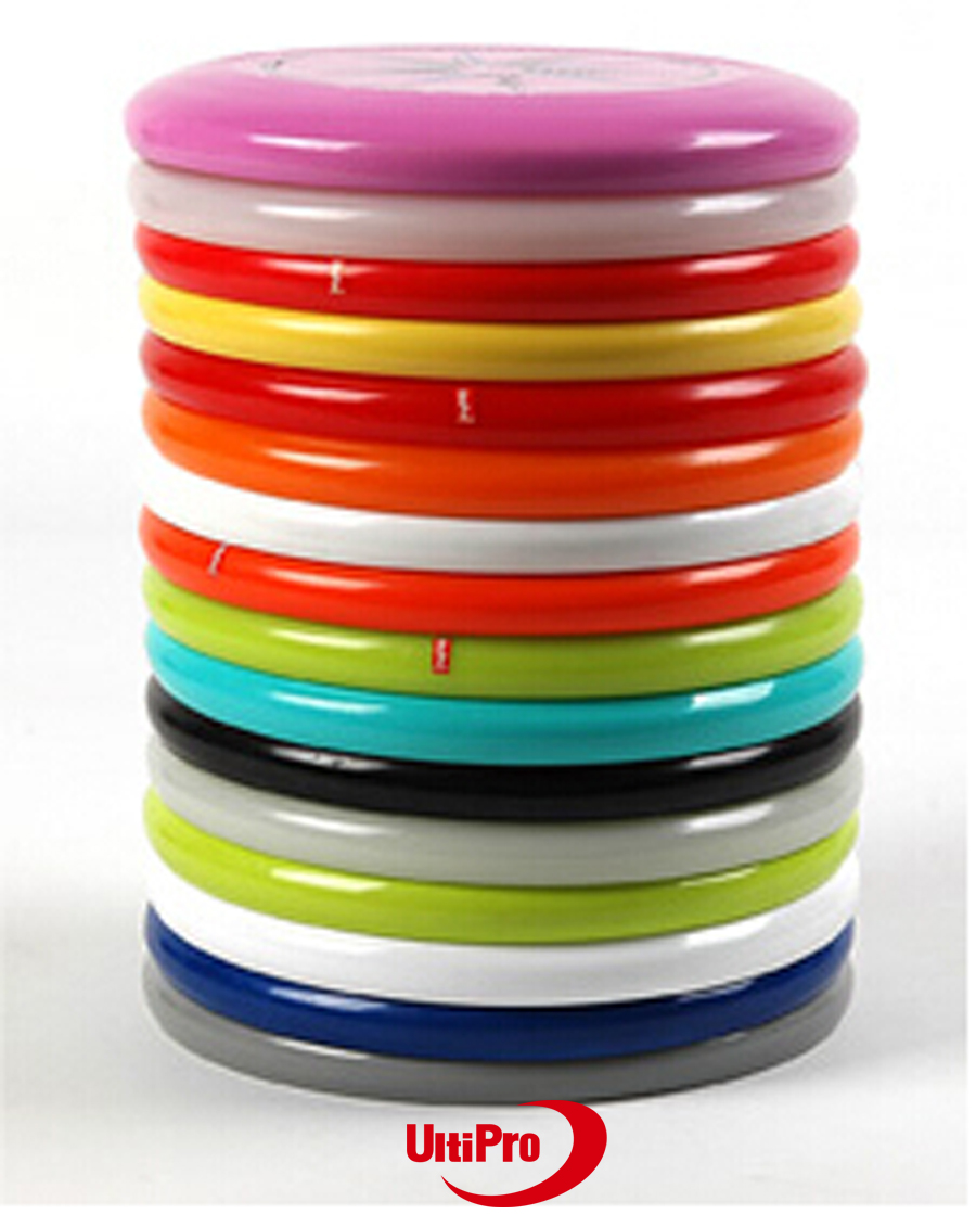 175g Ultimate Professional UltiPro Flying Disc Misprint Slightly Flaw Random Colors And Designs 7 Pieces