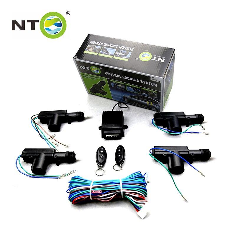NTO Remote Central Door Lock Automatically Burglar Alarm Remote Lock Unlock Car Electronics Alarm Key Mold LD007 3