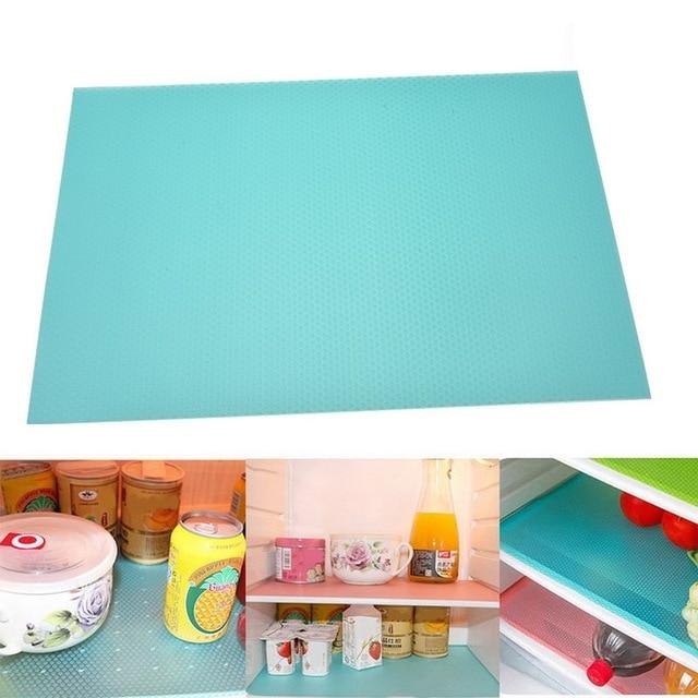 4pcs tapis antibactérien pour votre frigo