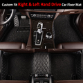 Custom fit car floor mats for Toyota Camry XV40/50 6th 7th generation 5D all weather car-styling carpet floor liners(2006-now)