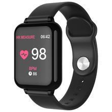B57 smart watch men women smartwatch fitness Bracelet Tracker heart rate monitor