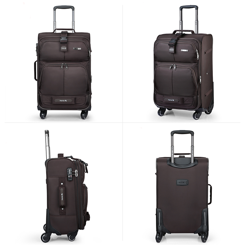 Expandable Luggage Trolley Case Men Women Travel Bag  1