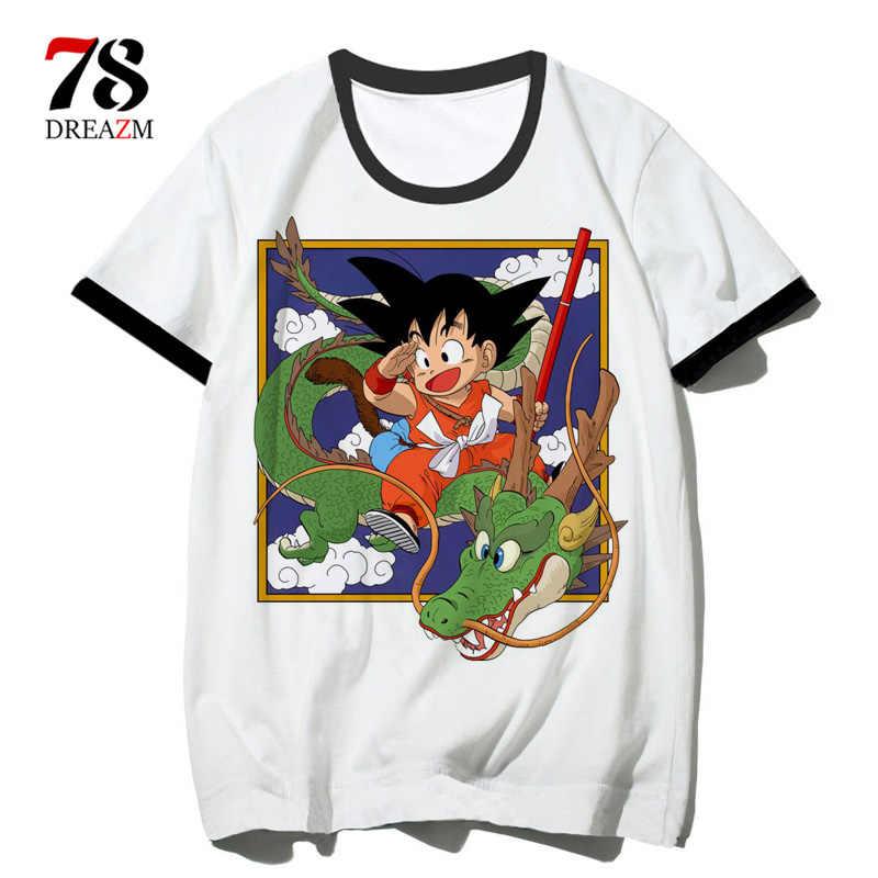Футболка с драконом и мячом, футболка для пары, футболка для мужчин и женщин, Наруто, лучший друг, футболка с драконом Z, футболка dbz Son, аниме