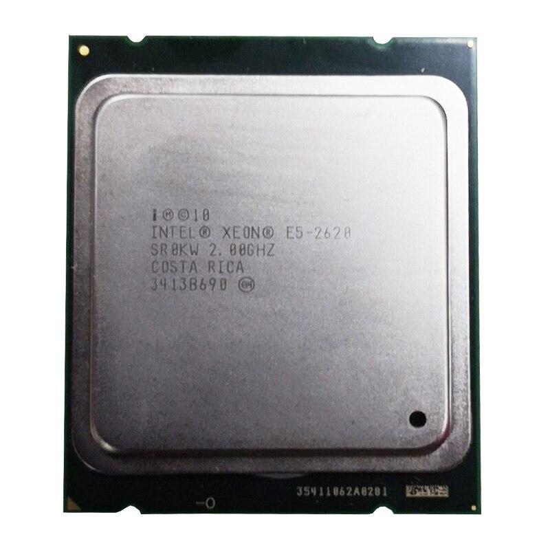 Intel Xeon CPU E5-2620  SR0KW 2.0GHz 6-Core 15M LGA2011