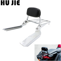 Motorcycle Chrome CTX700 Backrest Sissy Bar & Luggage Rack For HONDA CTX700D CTX700N CTX700ND 2014 2018 15 16 17