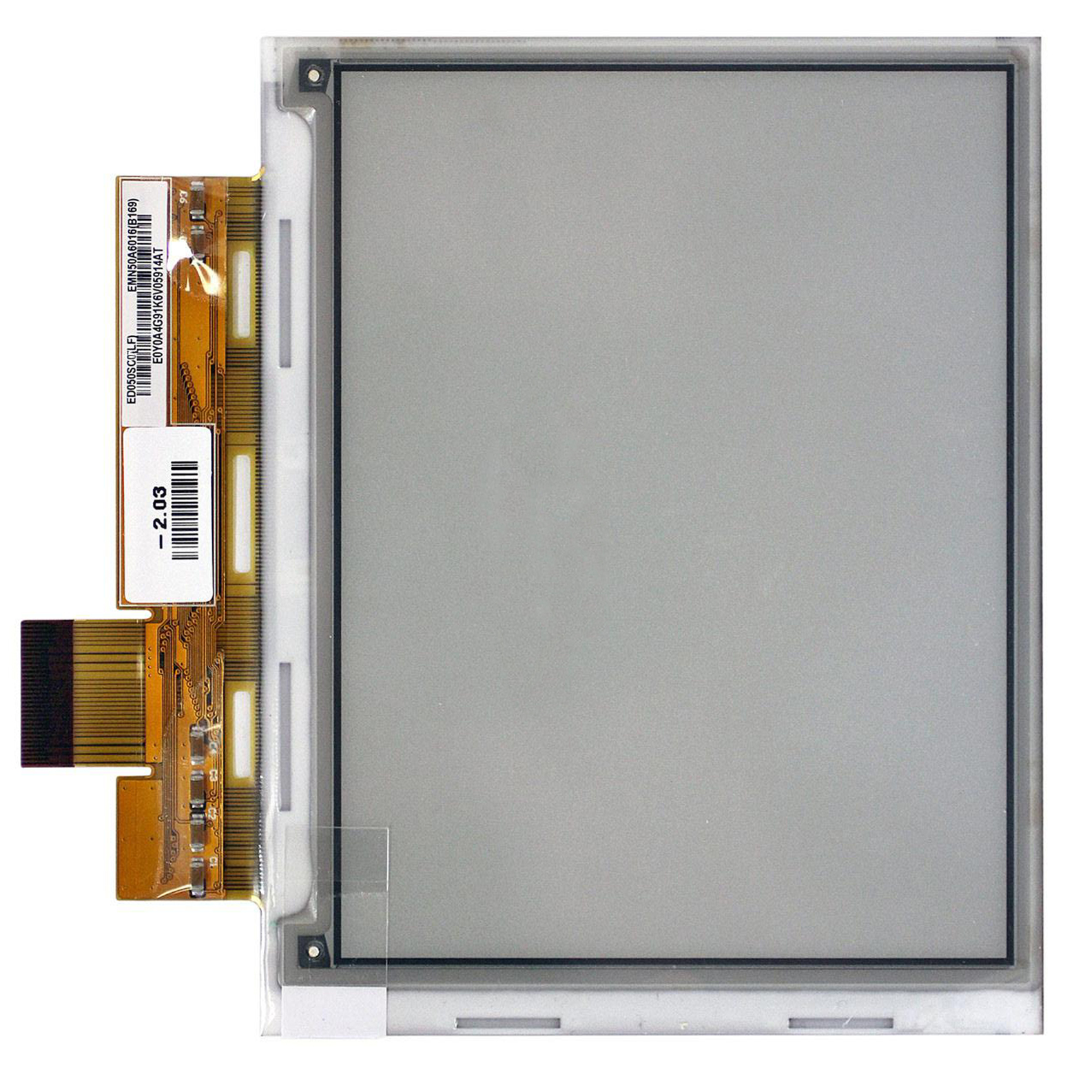 New PVI 5 inch ED050SC3(LF) Ebook screen Electronic ink display For Pocketbook 360; PRS-300 E-Readers screen