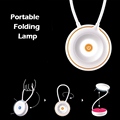 HY Portable Folding Lamp USB Charging Reading Light Led Outdoor Creative Table Light For Camping Cycling