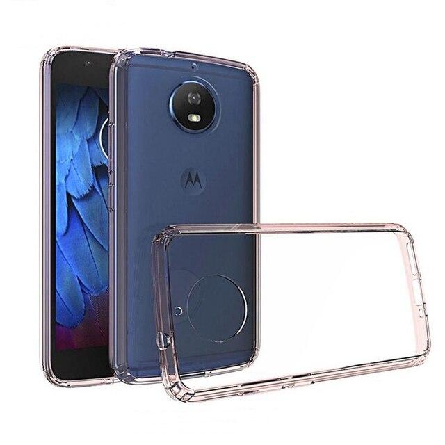 Voor Motorola Moto G5s Telefoon Gevallen Safe Rubber Frame Ultra