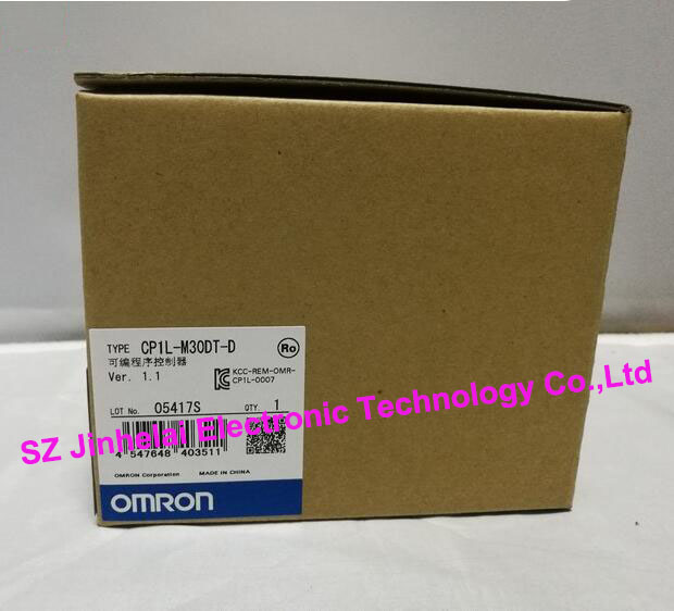 100% New and original  CP1L-M30DT-D  OMRON PLC CONTROLLER [zob] 100% new original omron omron proximity switch e2e x10d1 n 2m
