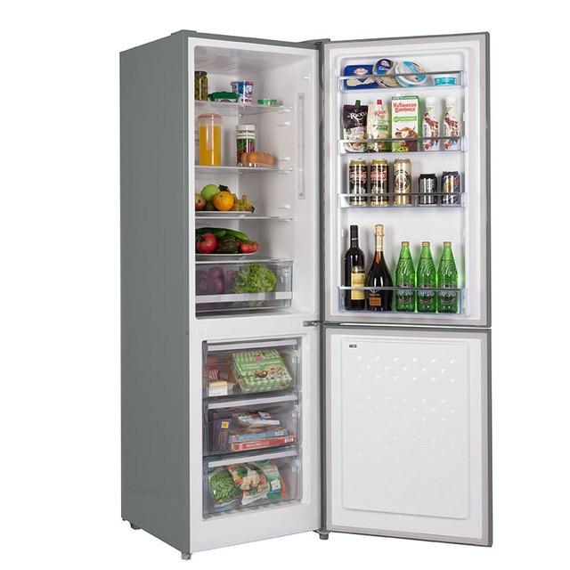 Холодильник NO FROST со стеклянной дверью HIBERG RFC-311NFGJ, доступно 7 цветов