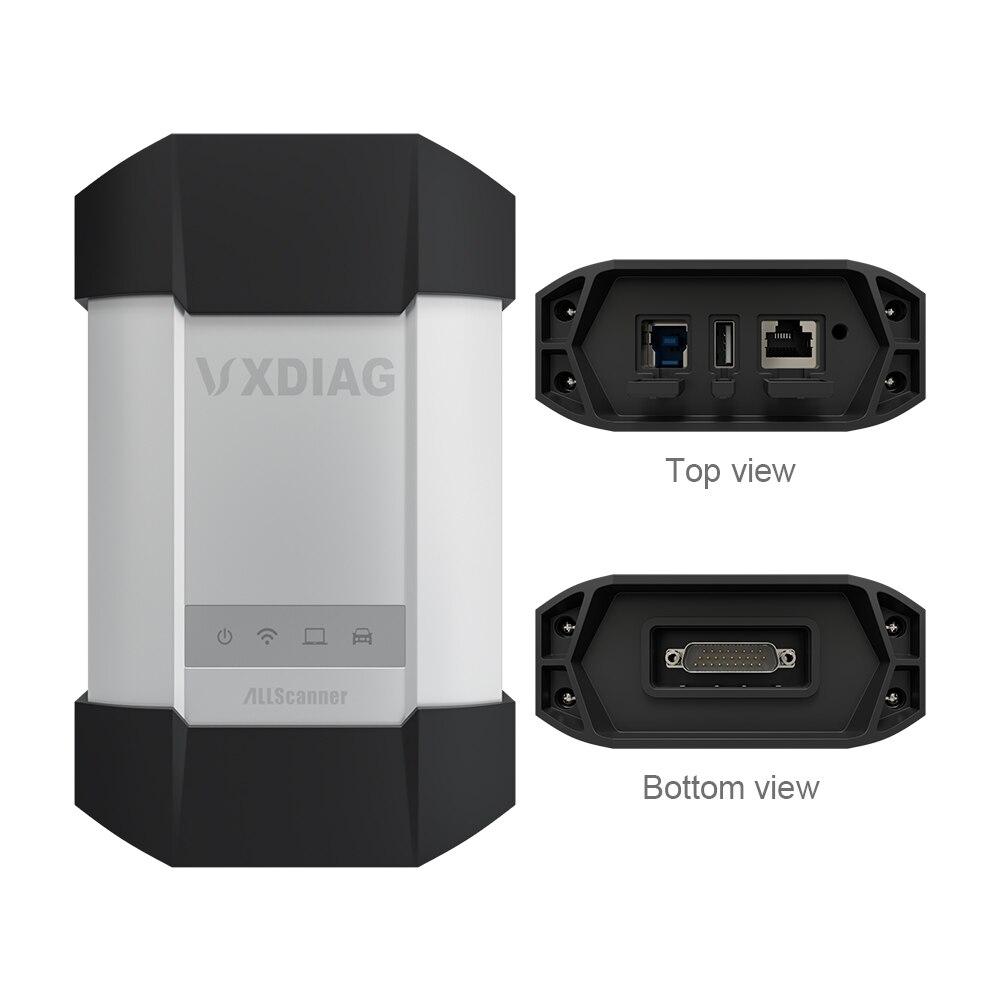 VXDIAG VCX C6 Per Benz Auto Professionale Strumento Diagnostico SD Collegare meglio di MB star C4 C5 wifi Obd2 codice scanner programmazione - 2