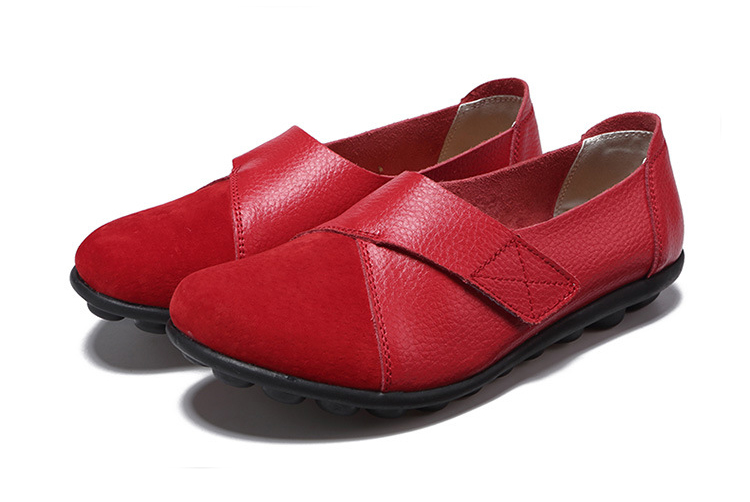 AH 1987-2019 Spring Autumn Women's Shoes Genuine Leather Woman Loafers-26