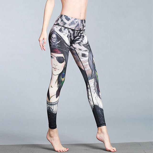 f9e67957a9a01 Women Sexy Yoga Pants Dry Fit Fitness Workout Running Tight Sport Women  Tights Fitness Gym Leggings