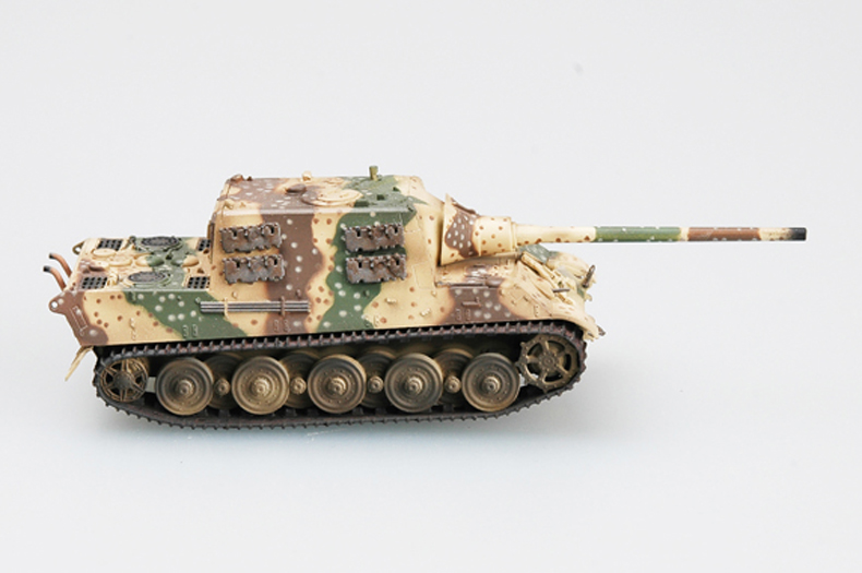 Trumpet 1:72 German World War II tiger hunting tank destroyer 36111 finished product model image