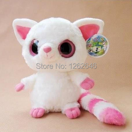 Yoohoo&Friends TY Big Eyes Cute Fabric Doll plush toy (fennec fox) - 8 Pammee,free shipping,doll plush toys,Gift for Chilren