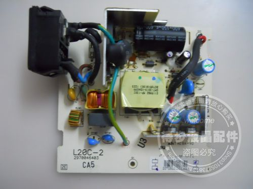 Free Shipping>Original    VP201s power board power supply board L20C-2 2970046403-Original 100% Tested Working free shipping 1940wcxm power board l195h0 nw999 vp 931 original 100% tested working