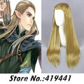 Free Shipping 65cm Medium Long  Straight The Lord of the Rings Legolas Light Brown Anime Cosplay Hair Wig