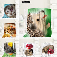Hot Sale Custom Hedgehog Animals Blanket Manta Flannel Blanket Sofa/Bed/Plane Travel Bedding 80X150cm.100X125cm,125X150cm