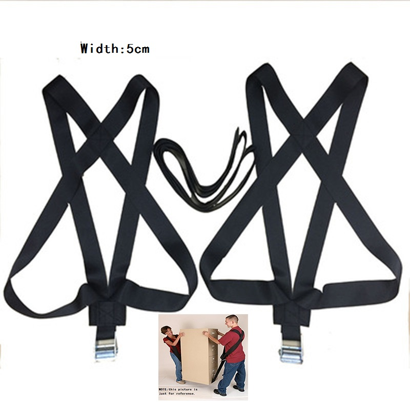 Newest Thick  Shoulder Lifting And Moving Strap Furniture Transport Belt In Wrist Straps Carry Rope For Lifting Bulky Items