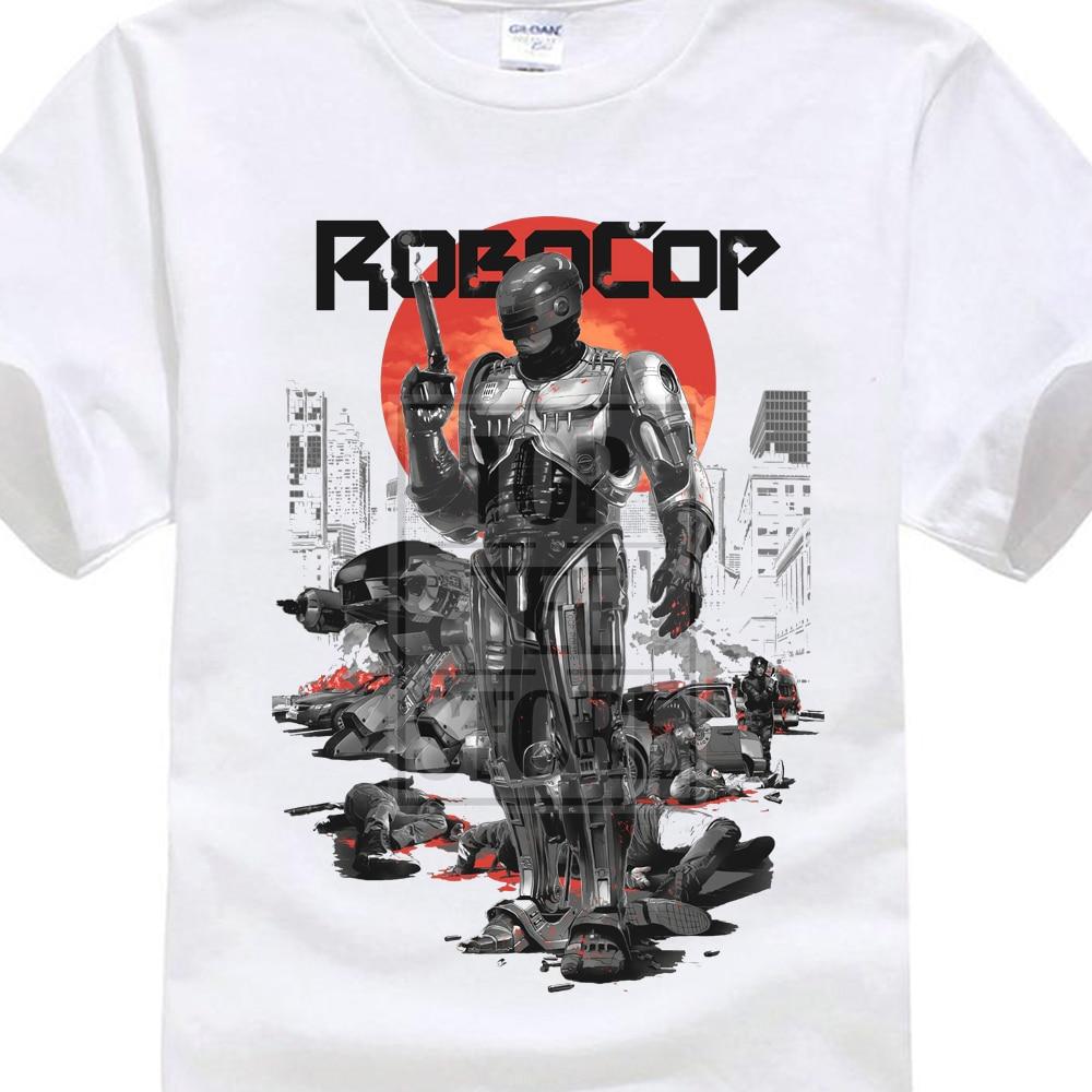 Robocop T Shirt Retro Vintage Cult Classic Movie Fandom Birthday Present in T Shirts from Men 39 s Clothing