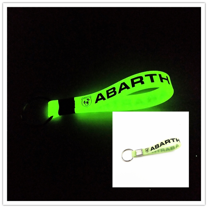 Luminous Car Keyring Car Case For Fiat Punto 500 Abarth Stilo Ducato Palio Accessories Motorcycle Automobiles Car Styling