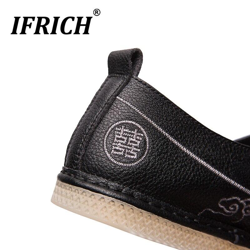 Preto Bege Beige Sapatas Homem Sapatos Moda Calçado Fresco Sneakers Homens black Fundo New Wearable Para Borracha Deslizamento Rígido Couro white Em Os De Flats x7wqt1O4tp