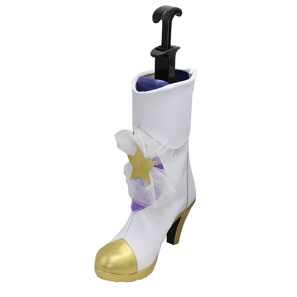 brdwn Magic girl Women 39 s Star Guardian Lux Lulu Jinx Janna Cosplay bowknot boots costume high heel Shoes in Shoes from Novelty amp Special Use