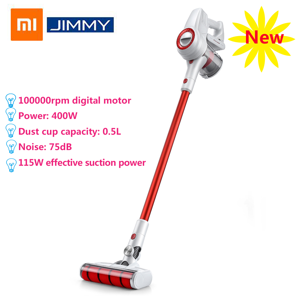 2018 xiaomi jimmy jv51 handheld wireless vacuum cleaner 10000rpm low noise strong suction vacuum. Black Bedroom Furniture Sets. Home Design Ideas