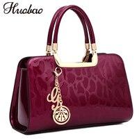 New Luxury Women Patent Leather Handbags Designer Top Handle Bags Ladies Shoulder Crossbody Bag Fashion Satchels Tote sac a main