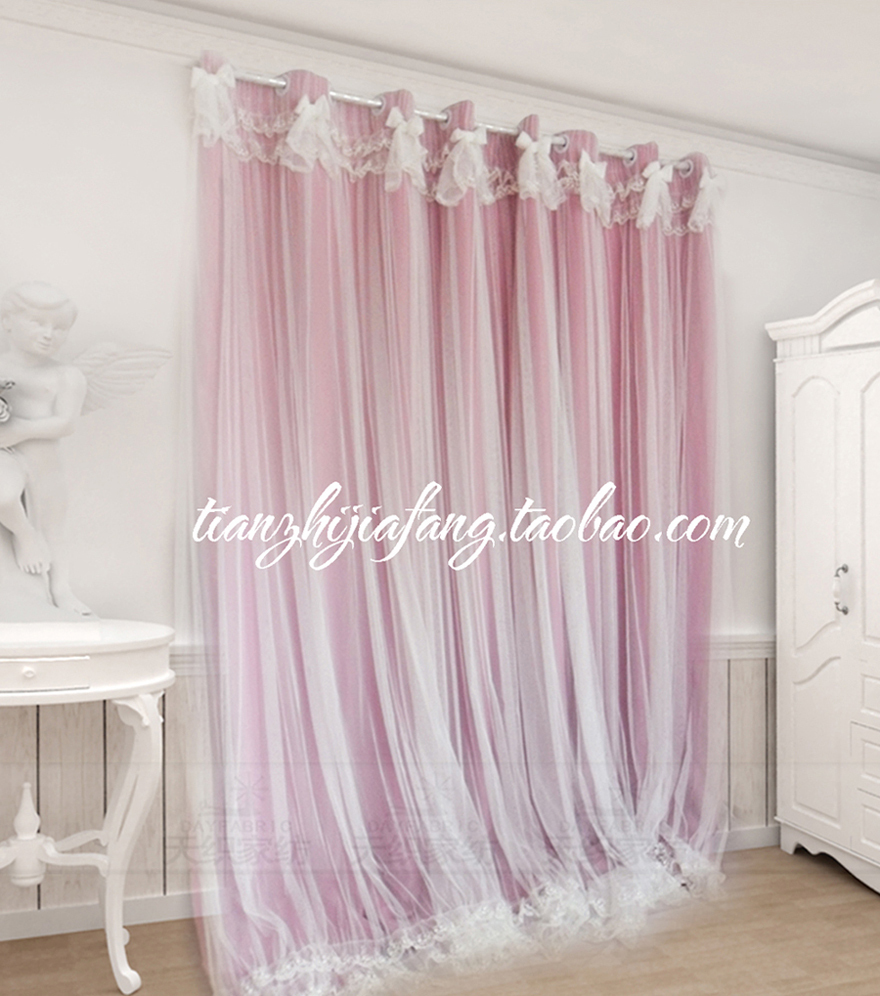 Purple butterfly curtains - Lace Butterfly Curtains 7stories Lace Butterfly Dream Gentle Princess Pure Color Shading Curtain Customize Genuine
