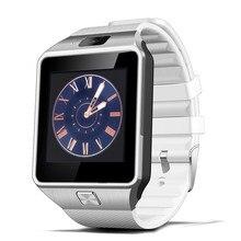 Купить с кэшбэком Bluetooth Smart Watches Men's DZ09 Clock With Sim Card Slot Smartwatch Men Watch Wearable Device Relogio Inteligente for Phone