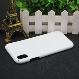 Image 3 - MANNIYA 3D Sublimation Full covered edge Blank white Phone Cases for iphone XS XR XS Max Free Shipping! 100pcs/lot