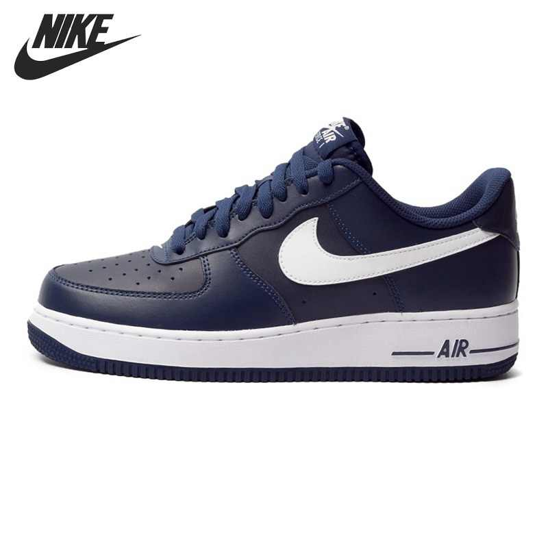 brand new 03059 d6d4d Original NIKE Air Force 1 Men s Skateboarding Shoes Sneakers