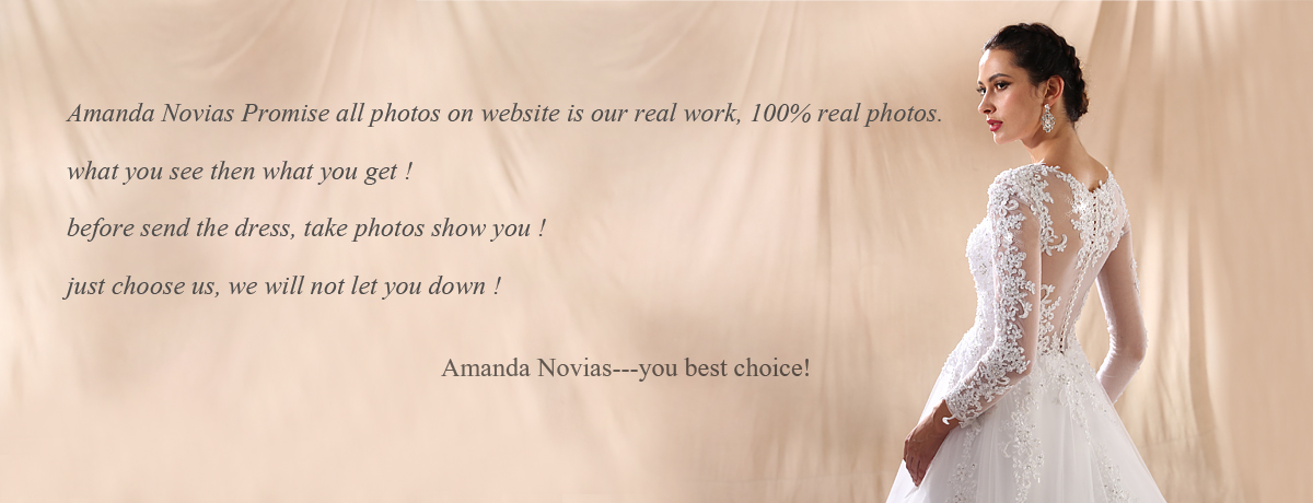 AMANDA NOVIAS Official Store - Small Orders Online Store, Hot ...