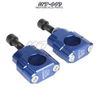 Handlebar bar mount Fat Bar Riser Clamps mounts M12 CNC Aluminum 7/8 To 11/8 28mm ATV Motorcycle Dirt Bike Free shipping