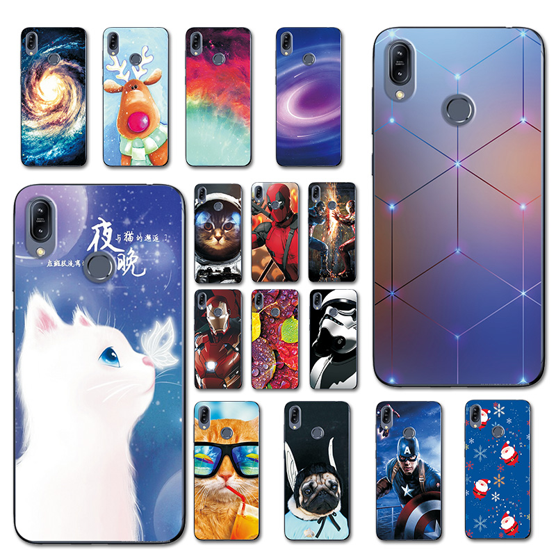For Asus Zenfone Max M2 ZB633KL Phone Case Coque For Asus ZB633KL Brilliant Cover Case For Zenfone ZB633KL Silicone Cute Pet cat