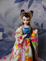 Free Shipping 12 Chinese Han Dynasty Princess Dolls With Joints Movable Pretty Dolls For Girls Kids