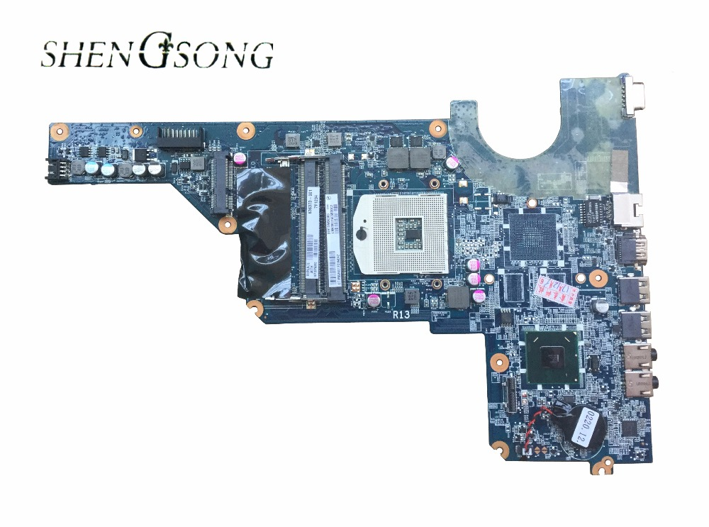 Free Shipping for HP Pavilion G4-1000 G6 G7 Laptop motherboard 636373-001 HM65 DA0R13MB6E0 DA0R13MB6E1 good quality working well 744009 501 744009 001 for hp probook 640 g1 650 g1 motherboard socket 947 hm87 ddr3l tested working
