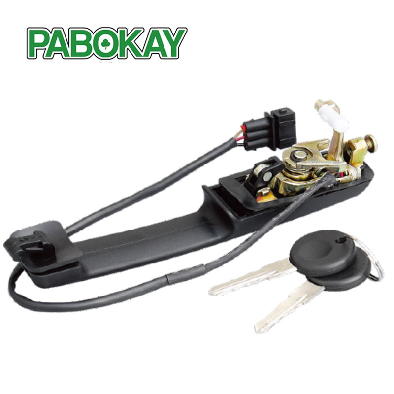 FOR VW PASSAT B3 88 93 OUTER RIGHT FRONT DOOR HANDLE CENTRAL LOCK W KEYS 357837208A
