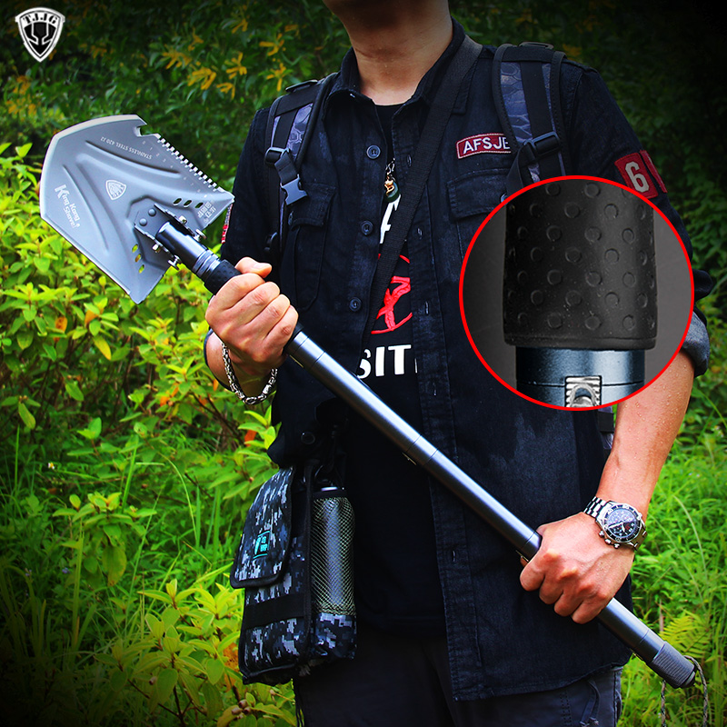 Folding shovel Professional outdoor survival Tactical Multifunctional Shovel Garden camping equipment Army tool