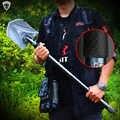 Katlanır kürek Profesyonel açık hayatta kalma Taktik Çok Fonksiyonlu Kürek Bahçe kamp ekipmanları Ordu aracı