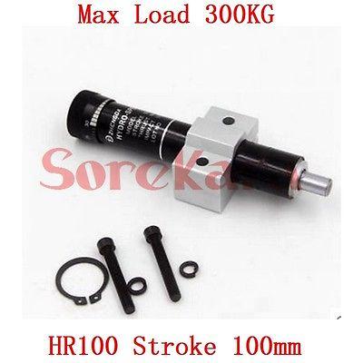 все цены на HR100 Adjustable Oil Pressure Buffer Damper SR100 Hydraulic Stable Stroke 100mm Max Load 300KG Pneumatic Element онлайн